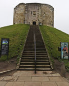 A View of York Castle, York, England — Stock Photo