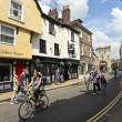 Sunny Goodramgate Scene, York, England — Stock Photo #13653727