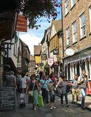 A Look at the Shambles, York, England — Stock Photo