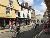 A Sunny Goodramgate Scene, York, England — Stock Photo
