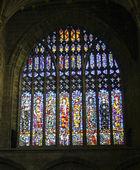 Aziz gösterilen vitray katedral pencere — Stok fotoğraf