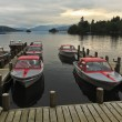 A Sunset Marina Shot in Bowness-on-Windermere — Stock Photo #14155343