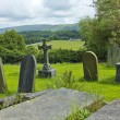 Old English Graveyard on Hill — Stock Photo #14245845