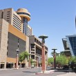 A Look at the Hyatt Regency Phoenix - Stock Photo