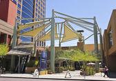 Una entrada al centro de collier, phoenix, arizona — Foto de Stock