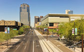 A Look at Downtown in Phoenix, Arizona — Stock Photo