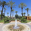 Stock Photo: Fountain at Wigwam, Litchfield Park, Arizona