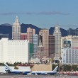 A New York Casino View from McCarran Airport — Stock Photo