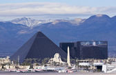 A Luxor View from McCarran International Airport — Stock Photo