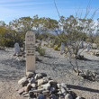 Stock Photo: Boothill Graveyard Scene in Tombstone, Arizona