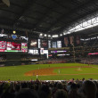A Diamondbacks Giants Game at Chase Field — Foto Stock #26941173