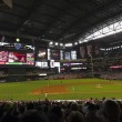 A Diamondbacks Giants Game at Chase Field — Stock fotografie #26941173