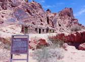 A Cabin at the Valley of Fire State Park — Stock Photo