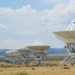 Stock Photo: Very Large Array Scene in New Mexico