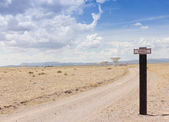 A Very Large Array Scene in New Mexico — Stock Photo
