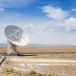 A Very Large Array Scene in New Mexico — Stockfoto