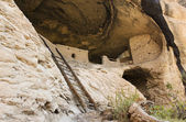 A Cave 4 Scene at the Gila Cliff Dwellings — Stock Photo