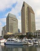 A Hyatt Manchester Grand Shot, San Diego — Stock Photo