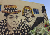 A Wallace and Ladmo Mural, Phoenix, Arizona — Stock Photo