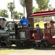 An Enchanted Island Express, Encanto Park — Stock Photo