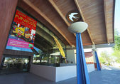 Un disparo de la biblioteca del centro cívico de scottsdale — Foto de Stock