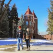 A Young Couple at Northern Arizona University — Stock Photo #38213609