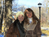 A Mother and Daughter at Northern Arizona University — 图库照片