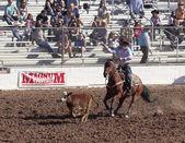 A La Fiesta De Los Vaqueros Rodeo, Tucson, Arizona — Foto de Stock