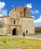 An Old Mission, Tumacacori National Historical Park — Stock Photo