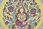 Thai art wall — Stock Photo
