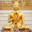 Foto de Stock  : Golden Statue of Buddha
