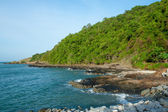Rocks and sea in thailand — Stock Photo