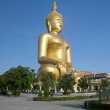 Big Golden Buddha statue — Stock Photo
