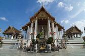 Wat Suthat rayal temple of Bangkok , Thailand — Stock Photo