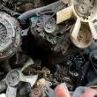 Scrap metal from car engine — Stock Photo