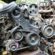 Scrap metal from car engine — Stock Photo #32454487