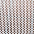 Background with seamless circle perforated metal — Stock Photo
