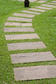 Senso di pietra verde erba. — Foto Stock