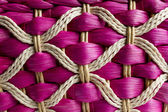Basketry of rattan, made in Thailand. — Stock Photo