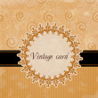 Royalty-Free Stock Vector Image: Vintage card