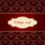 Vintage card — Stock Vector