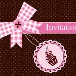 Invitation card — Stock Vector #12706933