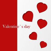 Valentine`s card — Stock Vector