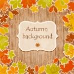 Autumn background — Stock Vector #34907169