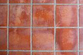 Red floor tile — Stock Photo