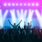 Dj concert — Stock Photo