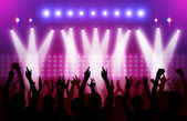 Action in concert — Stock Photo