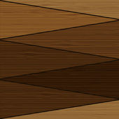 Wood wall background Vector — Stock Vector