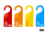 Color do not disturb — Stock Vector