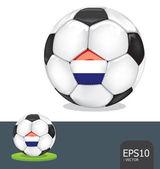 Vector de holanda fútbol euro2012 — Vector de stock